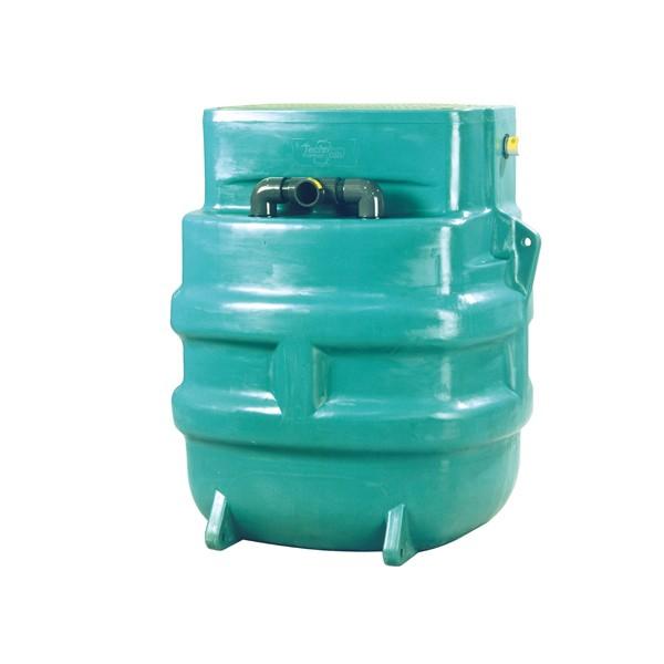 Station de relevage eaux usées 2 pompes JETLY DAB type POLYFOS