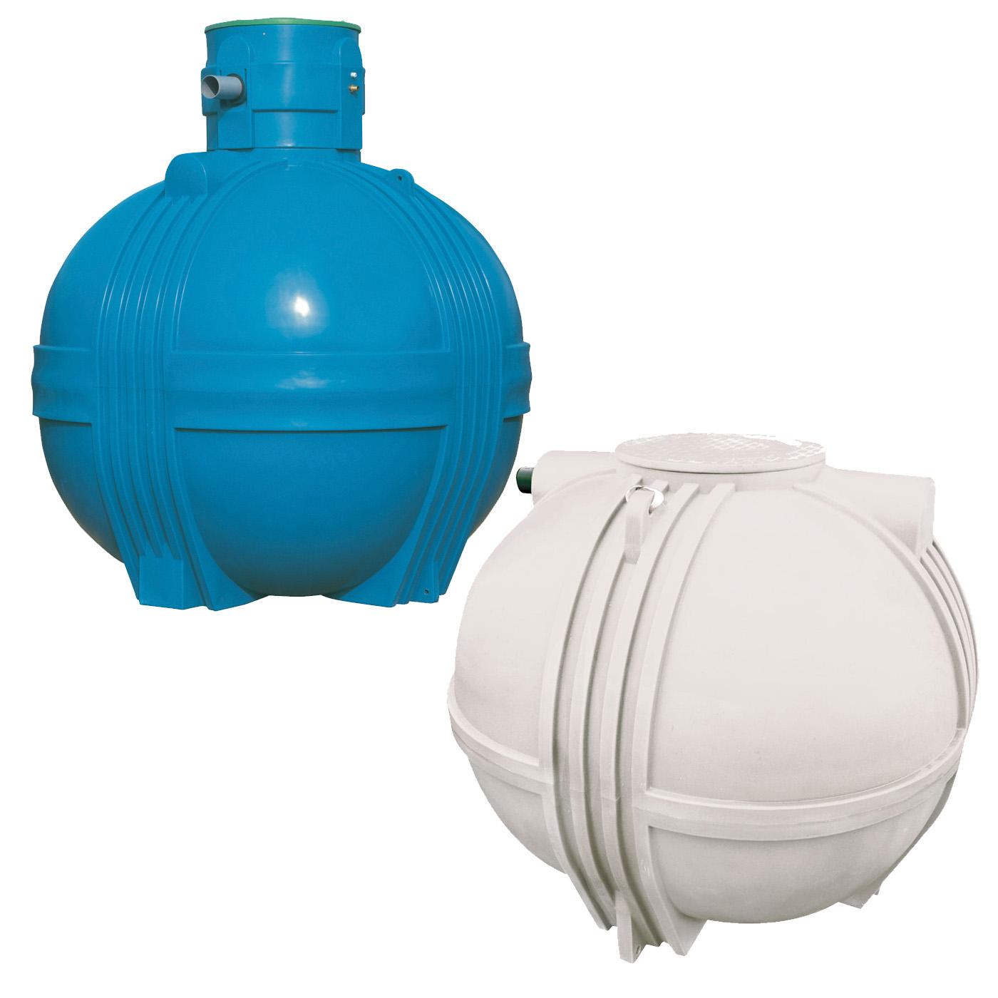 Réservoir cuve à eau à enterrer JETLY type GLOBUS