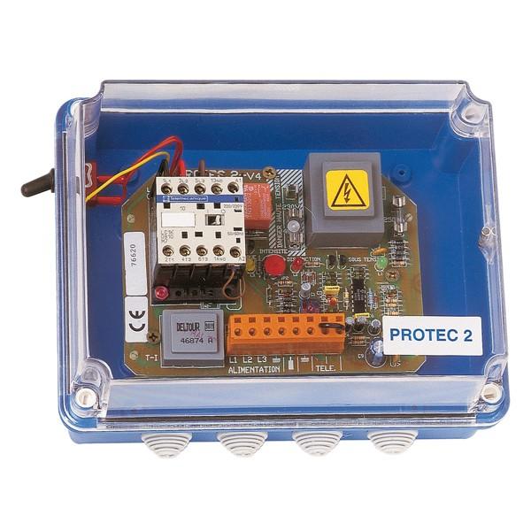 Coffret de commande et de protection JETLY type PROTEC 2